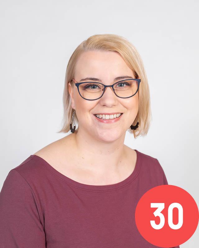Suvi Simelius-Nieminen 30